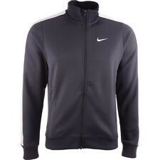 Authentic Men's Nike N98 Athletic Training Track Jacket Charcoal Grey/White  M&L