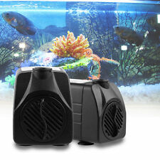 Aquarium Fish Tank Submersible Aqua Fountain Pond Water Pump 350-800 LPH ECO
