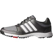 New Adidas Tech Response Mens Golf Shoes Iron/White/Black - New In Box