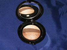 "Stila Baked Eye Shadow ""BRONZE GLOW"" Trio Refill W/ Generic Compact Case"