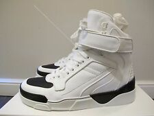 -65%OFF Givenchy White Tyson Leather High-Top Sneakers: size 42 (9US)