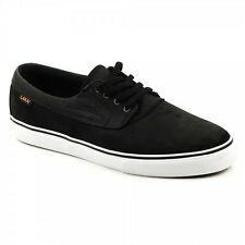 LAKAI CAMBY MS115 SKATE SHOES - BLACK SUEDE