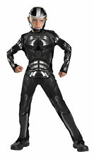 Duke Classic Child Boys Costume Helmet Mask Black Jumpsuit Halloween Disguise