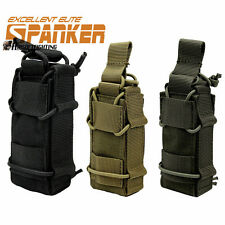 1000D Military Tactical Molle Pistol Magazine Pouch Flashlight Belt Bag Hunting