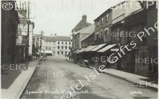 Suffolk Slowmarket Ipswich St Old Photo Print - Size Selectable