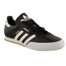 Adidas Original Mens Samba Super Shoes Trainers Black/White sizes 7-12  019099