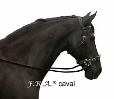 F.R.A. Caval hackamore bitless bridle Incl reins, natural horsemanship
