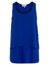 Coast Kitty Cobalt Blue Tiered Top. Size 6. RRP £55.