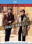 Donnie Brasco (Blu-ray Disc, 2007, Extended Cut) Original Box