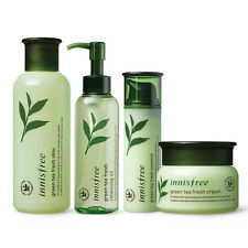 INNISFREE Green Tea Fresh [Skin/Cream/Essence/Cleansing Oil] For Oily Skin Type