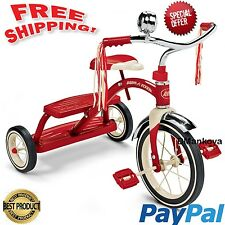 Bike Radio Flyer Classic Red Dual Deck Tricycle New Model 33 / Size 12 Inch