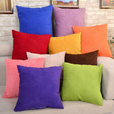 Candy Color Velvet Throw Pillow Case Cafe Lounge Decorative Cushion Cover PICK
