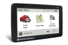 "RAND McNALLY TND 730LM TRUCK/AUTOMOBILE GPS LIFETIME MAPS -  ""BRAND NEW"""