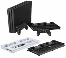 Vertical Cooling Fan Stand Pad Controller Dock For Sony PS4 Slim/Pro Console