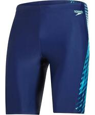 Speedo Placement Curve Panel Jammer Mens Swim Shorts Swimming Shorts