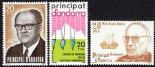 Andorra, Spanish Administration Scott #C2-4 VF MNH Lot of 3 Airmail Stamps
