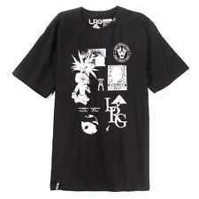 LRG Lifted Research Group Hustle & Grow Tee (Black) Men's Graphic Weed T-shirt