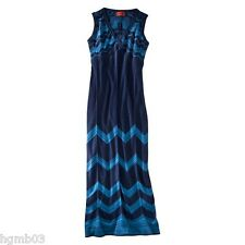 MISSONI FOR TARGET MAXI DRESS BLUE SIZE S SMALL, M MEDIUM - NEW