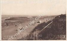 Norfolk Bacton-On-Sea Walcot Cliffs and Sands Old Photo Print - Size Select
