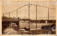 Norfolk Caister Camp Tennis Courts & Pavilion Old Photo Print - Size Select