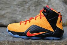 "13 Nike Lebron XII 12 ""Witness"" GS Basketball Shoes Boys SZ 5Y 6.5Y 685181 830"