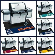 NFL Football BBQ Grill Mat * ALL TEAMS AVAILABLE * Outdoor Patio Deck Barbeque