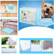 Quilted 20 40 50 100 Piece Dog Puppy Training Wee Wee Pee Pads Underpads Potty
