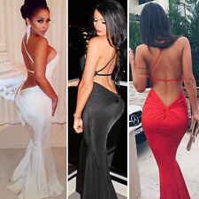 NewWomen Long Sexy Evening Party Ball Prom Gown Formal Bridesmaid Cocktail Dress