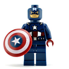 Lego Super Heroes Minifigur - Captain America (Brand New & Sealed) fits lego