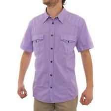 Versace Short Sleeve Collared Dress Button Up Men Regular Dress Button
