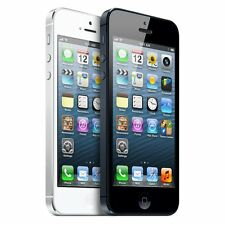 Apple iPhone 5 - 16/32/64GB - AT&T Cricket H20 - 4G LTE Smartphone - Black White