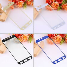 9H Full Cover Tempered Glass Screen Protector Film for Samsung Galaxy S6 JG