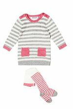 Baby Girls Knitted Dress & Tights Outfit (12-24 Months)