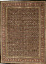 Pasargad Tabriz Hand-Knotted Navy/Rust Area Rug