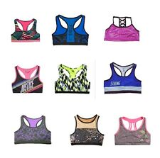 NWT Justice Girls Printed Sports Bra Assorted Sizes Colors 7 8 10 12 14 16 18