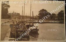 Norfolk Blakeney Boats moored in Quay Old Photo Print - Size Selectable