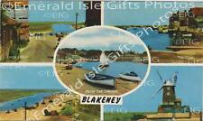 Norfolk Blakeney Point Multi-View Old Photo Print - Size Select