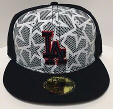 MLB Los Angeles Dodgers Stars Stripes Men Hat New Era 59FIFTY Fitted Cap USA