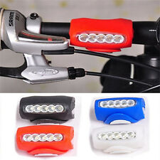 Cycling Bike Bicycle Silicone 7 LED Frog Front Head Light Rear Warning Lamp CN