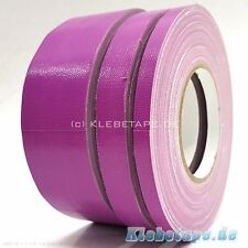 Fabric Adhesive Tape Purple Gaffa Tape 50m Roll Spike Duct Tape 5-9-15-19mm
