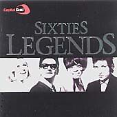 CAPITAL GOLD SIXTIES LEGENDS - VARIOUS - 2 X CD SET - HOLLIES / PROCAL HAREM +