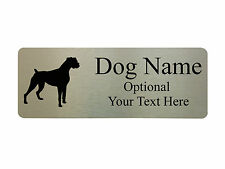 Custom Personalised Name Plate Plaques Dog Pets Door House Sign Metal Aluminium