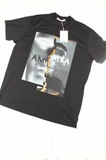 Givenchy Amerika Black Printed T-Shirt
