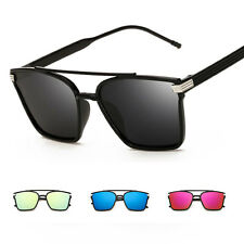 Womens Vintage Fashion Retro Aviator Mirrored Sunglasses Eyewear Shades Glasses