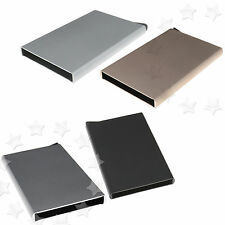 1 x Aluminum Slim ID Credit Card RFID Protector Holder Purse Wallet Secure