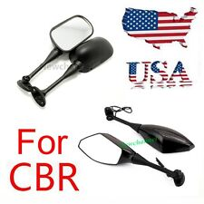 Brand New Pair Side Mirrors For Honda CBR600RR CBR1000RR CBR250R CBR500R CBR300R