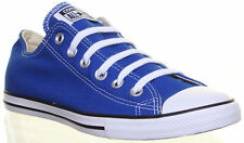 New Converse Shoes Unisex Men's Women's Blue Canvas Trainers 142273