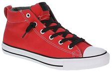 New Converse Chuck Taylor Shoes Street Mid Red Black 142326 10 Men