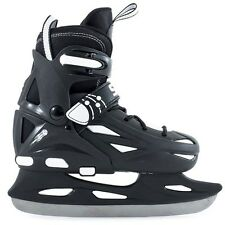Ice Skates. Kids Ice Skates. SFR Eclipse Adjustable Hockey Ice Skates - Black
