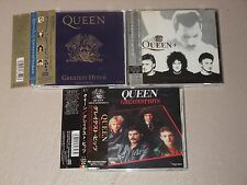 QUEEN Greatest 51 Hits 3 CD JAPAN We are the champion Bohemian Rhapsody F3551
